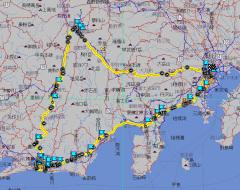浜名湖ツーリング道程